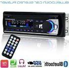 12V FM Car Stereo Radio Bluetooth 1 DIN In Dash Handsfree SD