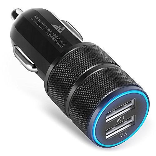 Car Auto Vehicle Micro USB Charger for Samsung Galaxy S III/