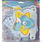 CARE BEARS BOY BANNER ~ 1st Birthday Party Supplies Hanging