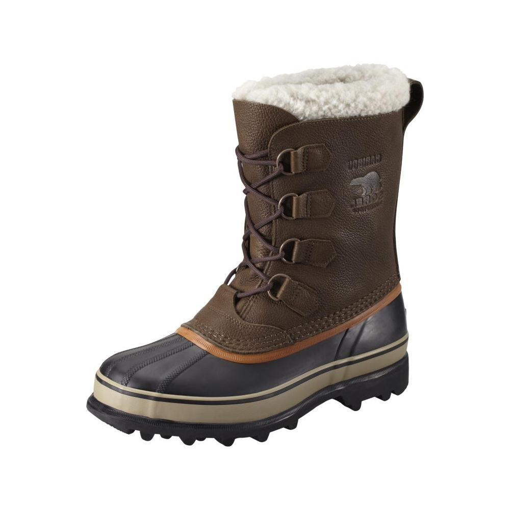 Sorel Caribou Wool Boot - Men's Tobacco, 9.0