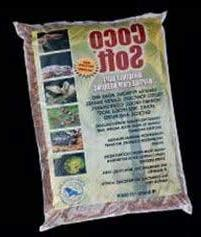 CaribSea Aquatics SCS24211 Coco Soft Bedding, Coarse Chip,