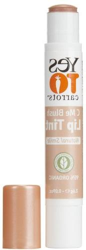 Yes to Carrots C Me Shine All Natural Lip Tint - Natural