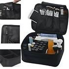 Travel Cosmetic Case Professional Makeup Bag Organizer Brush