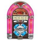 New Crosley CD Player Jukebox Led Cherry And Lighting Deluxe
