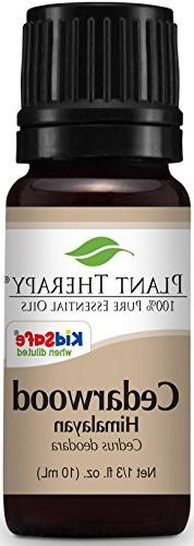 Plant Therapy Cedarwood Himalayan Essential Oil. 100% Pure,