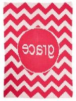 Butterscotch Blankees 'Chevron - Large' Personalized Blanket