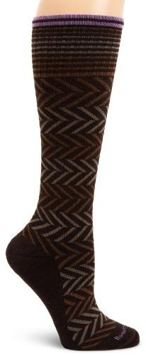 Sockwell Women's Chevron Circulator Sock, Medium/Large,