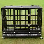 Chew Resistant Dog Pet Crate Bed Heavy Duty Kennel Metal