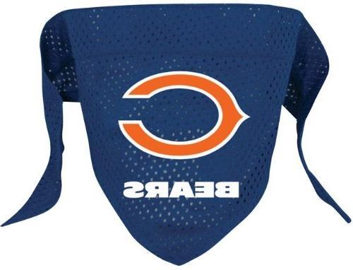 Chicago Bears Pet Dog Football Jersey Alternate LARGE