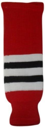 DoGree Hockey Chicago Blackhawks Knit Hockey Socks, Red/