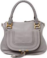 Chloé Marcie Medium Shoulder Bag, Gray