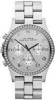 Marc by Marc Jacobs 'Henry' Chronograph & Crystal Topring
