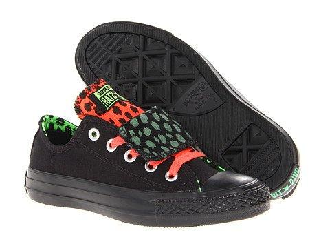 New Converse Women's Chuck Taylor Double Tongue Ox Sneakers