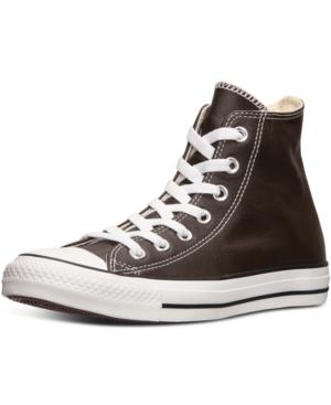 Converse Men's Chuck Taylor High Leather Casual Sneakers