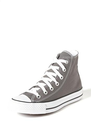 Women's Converse Chuck Taylor 'Dainty' Sneaker Charcoal Size