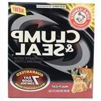 Arm & Hammer Clump & Seal Litter, Multi-Cat, 28 Lbs