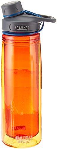 Chute Insulated Water Bottle, Fire, .6-Liter