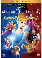Disney Cinderella II and Cinderella III DVD