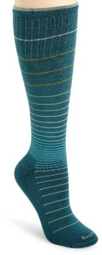 Sockwell Circulator Compression Socks - Women's Teal Stripe