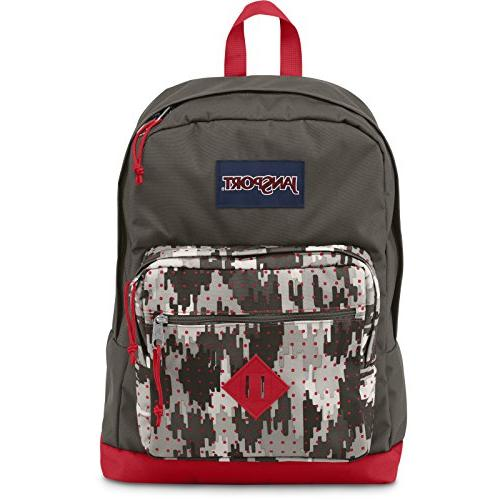 JanSport - City Scout - High Risk Red Camo Dots-02J