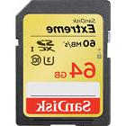 SanDisk Extreme 64GB Class 10 90MB/s SDXC UHS-I Memory Card