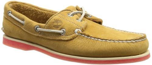 Timberland Men's Classic-2 Eyed Boat Shoe,Black,6.5 M US
