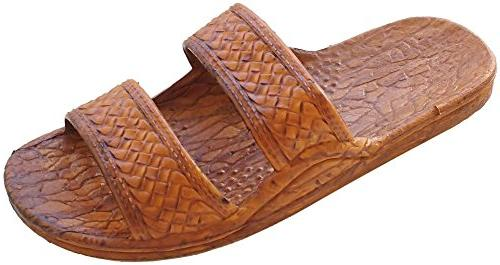 f9ea5faf3af75 Pali Hawaii Adult Classic Brown Jandals Sandals 13