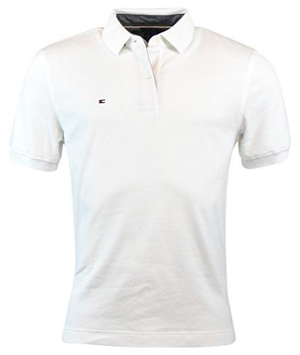 Tommy Hilfiger Mens Classic Fit Knit Cotton Polo Shirt - M