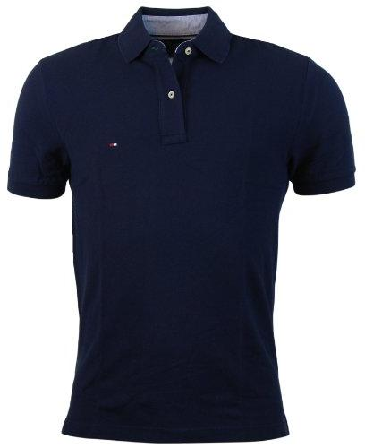 Tommy Hilfiger Mens Classic Fit Solid Color Short Sleeve