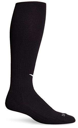 NIKE Unisex Academy Over-The-Calf Soccer Socks, Black/White