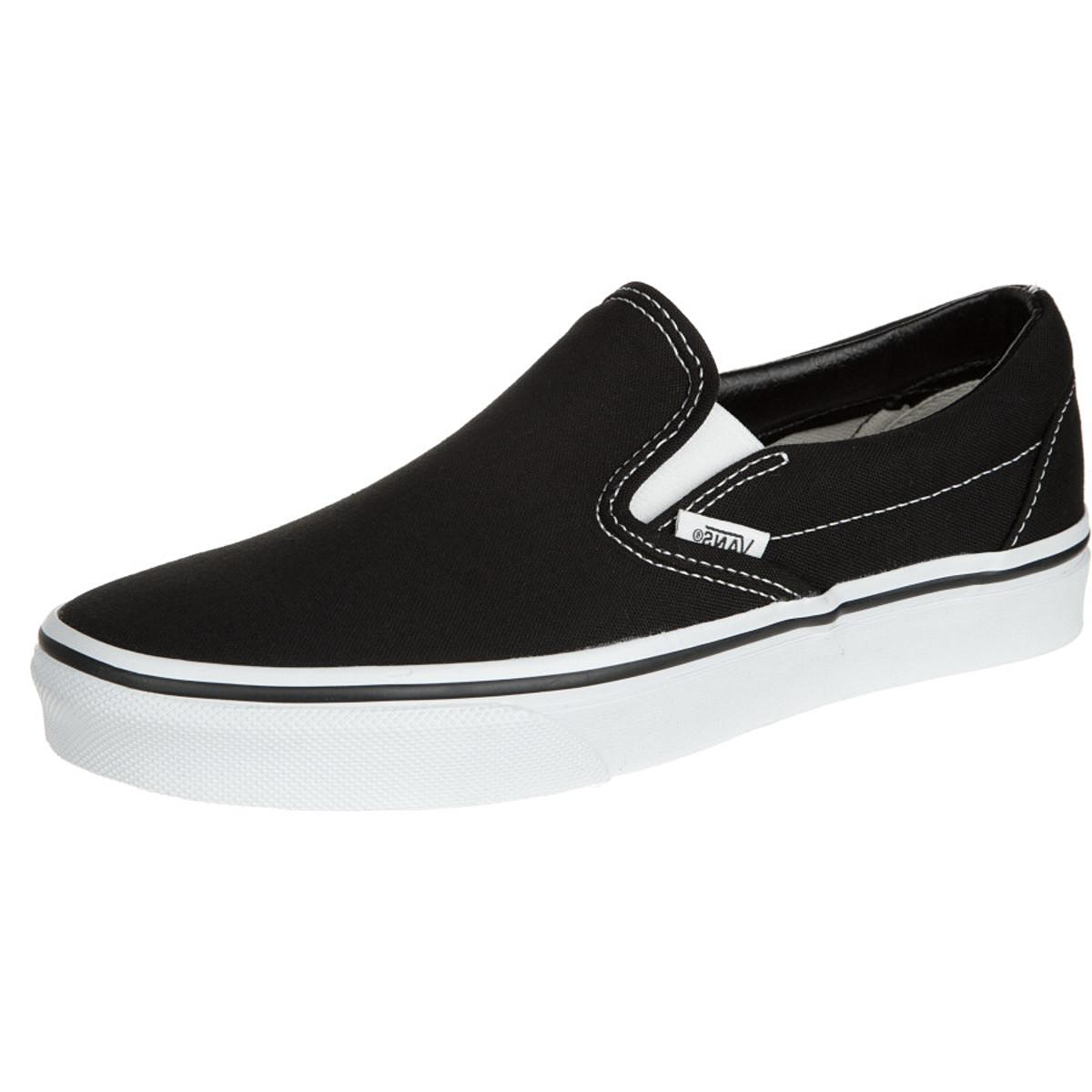 Vans Classic Slip-On Core Classic Shoe - Men's Black, 8.5