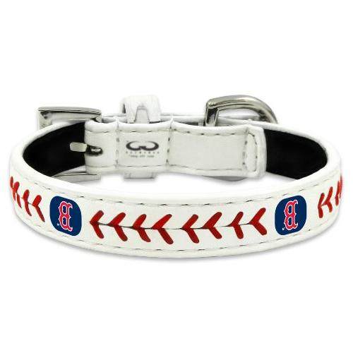 GameWear CLC-MLB-BOR-S Boston Red Sox Small Classic Leather