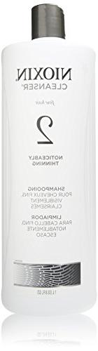 Nioxin Cleanser, System 2 shampooing, 33.8 Ounce