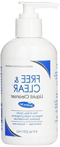 Vanicream Free and Clear Liquid Cleanser 8 Oz