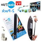 2X CLEAR HD TV KEY FREE HD Digital TV Indoor Antenna Ditch
