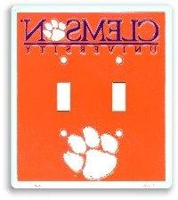 Clemson University Light Switch Covers Double Plates-