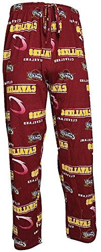 Cleveland Cavaliers Wine Fusion Mens Pajama Pants by
