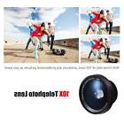 Mpow 2 in1 Clip On 0.6X Wide Angle Lens 10X Macro Lens for