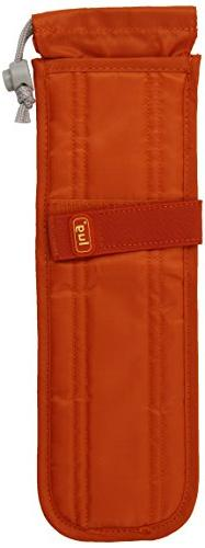 Lug Clipper Flat Iron Case, Sunset Orange