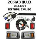 Club Car DS Golf Cart Street Legal FULL LED DELUXE Light Kit