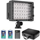 Neewer CN-160 LED Dimmable Video Light Kit with Battery /