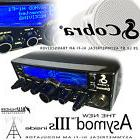 COBRA 29 LX BT & THE NEW ASYMOD IIIs ASYMMETRICAL Hi-Fi AM