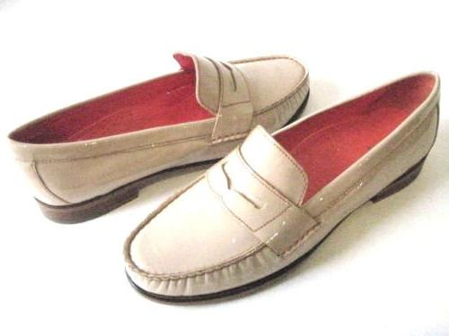 COLE HAAN ALEXA NOUGAT PATENT MOCCASION LOAFER D39282 WOMEN