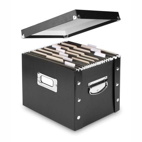 Collapsible Desktop File Box