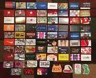 Lot of 75 Collectible Mix Gift Cards Starbucks Target