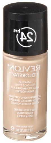 Revlon ColorStay Makeup, Combination/Oily Skin, Fresh Beige