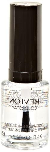 REVLON Colorstay Nail Enamel, Top Coat, 0.4 Fluid Ounce