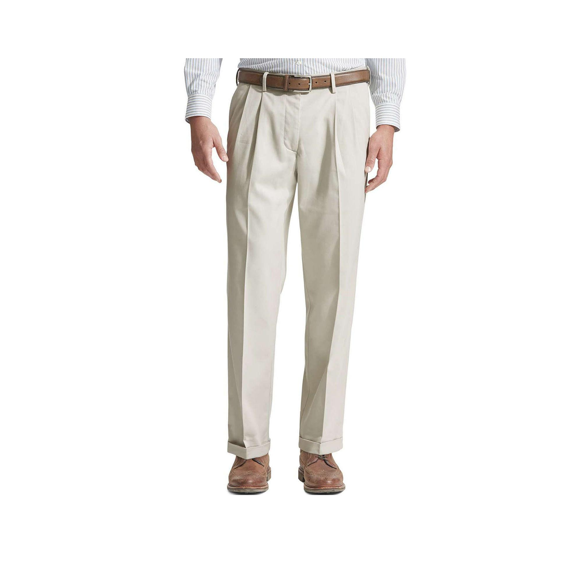 Dockers Comfort Khaki Relaxed Pleated Pants
