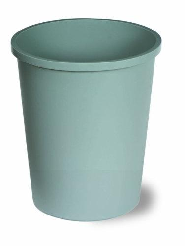 Continental 1358BK 13-5/8 Quart Commercial HDPE Trash Can,