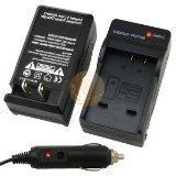Compact Battery Charger Set Compatible with Kodak KLIC-7004